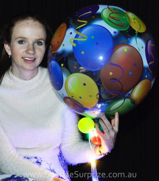 Confetti Balloon Sparkle Surprize