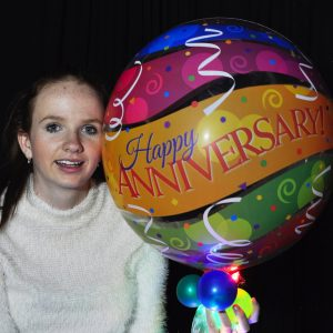 Anniversary Colourful Sparkle Surprize