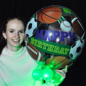 Birthday Sports Sparkle Surprize