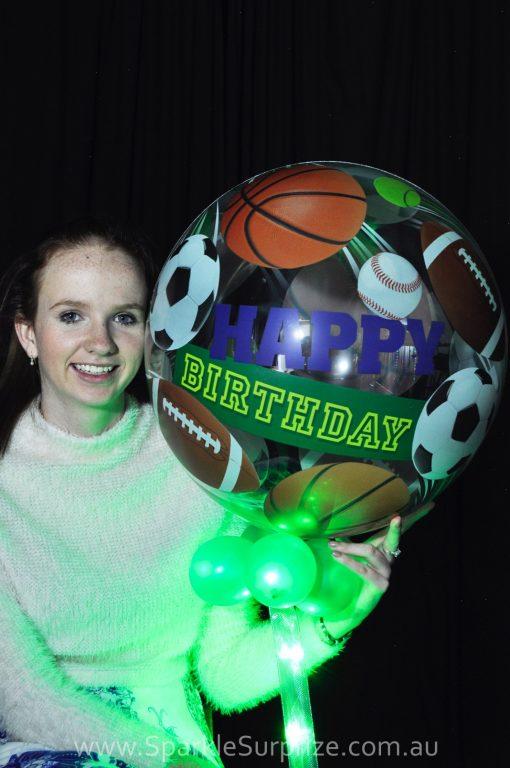 Birthday Sports Sparkle Surprize
