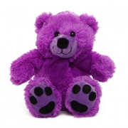 Purple Teddy Bear 18cm