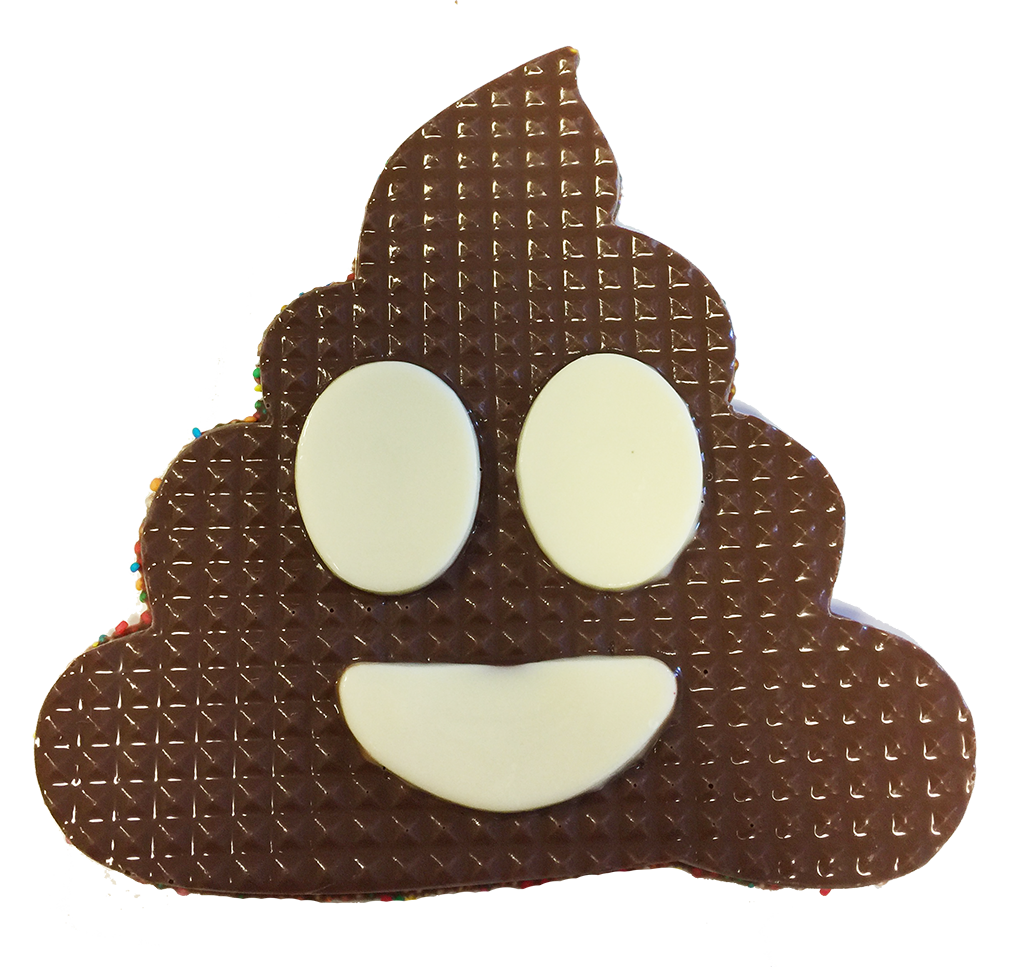 Chocolate Freckle Emoji Poo Add It To Your Sparkle Surprize