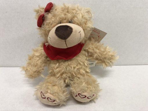 Fluffy beige teddy 31cm
