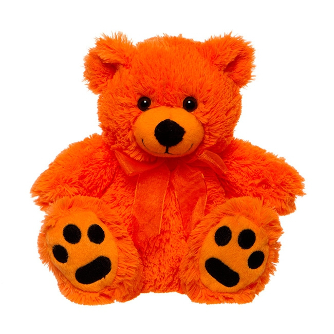 Orange Teddy Bear 18cm The Perfect Addon To Your Sparkle
