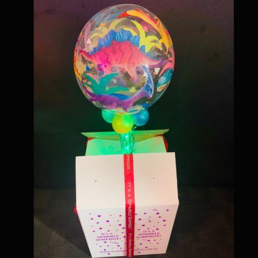 Dinosaur Bubble in a box
