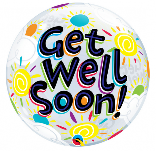 Get Well Soon Bubble