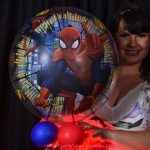 Spiderman Sparkle Surprize