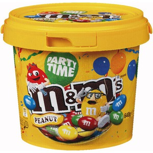 Bucket of M&M's Peanuts