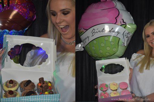 12 Mixed Cupcakes Surprize