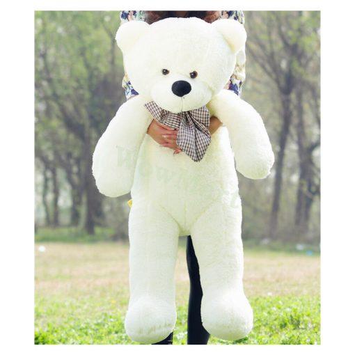 Jumbo White Teddy 1 metre