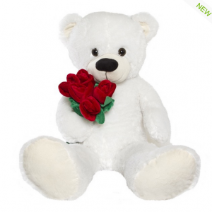 Jumbo white teddy