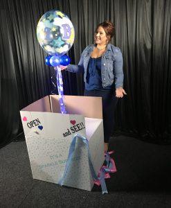 Sparkle Bubble Gender Reveal