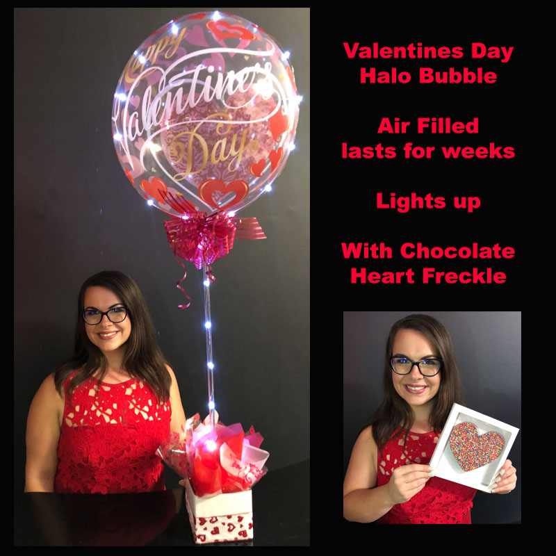 Valentines Halo Bubble Amp Delicious Chocolate Heart Freckle