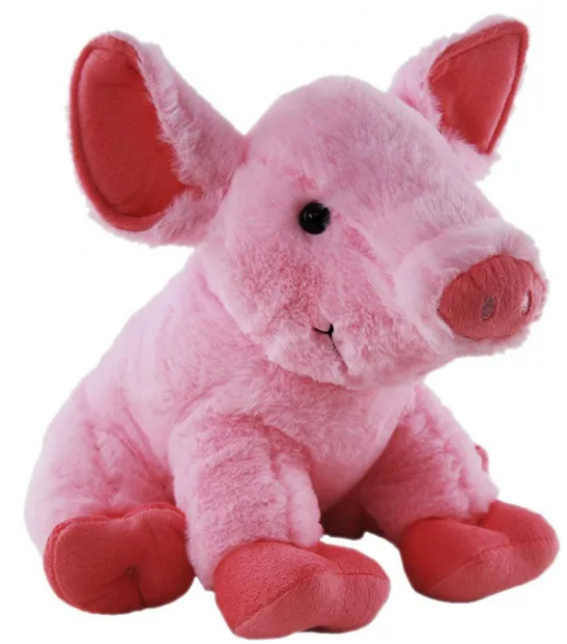 Very large pink pig 50cm