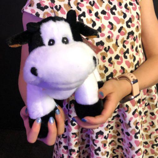 cute cuddly 23cm cow