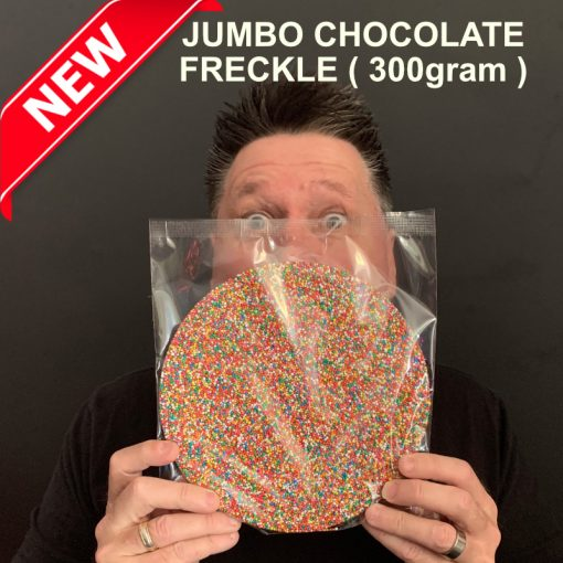 Jumbo milk chocolate freckle