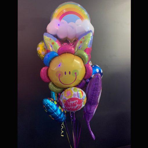 Butterflies and Rainbows balloon bouquet