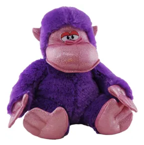 Large 50cm Purple Gorilla