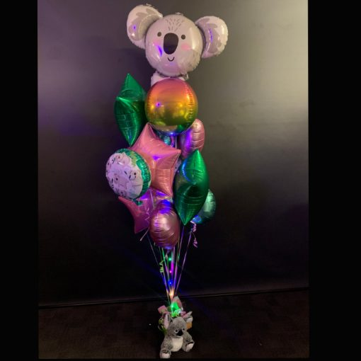 Cuddly Koala helium balloon bouquet