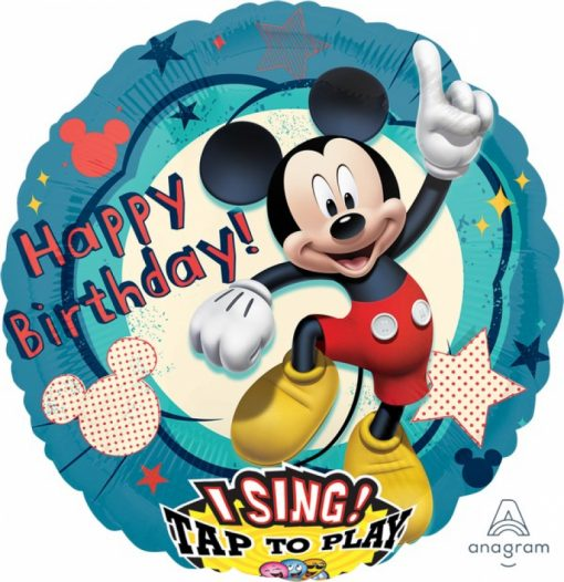 HAPPY BIRTHDAY MICKEY MOUSE SINGING BALLOON