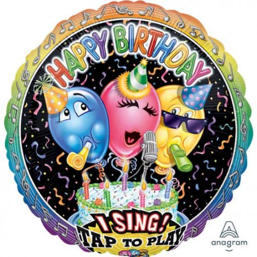 HAPPY BIRTHDAY P60 Singing Balloon