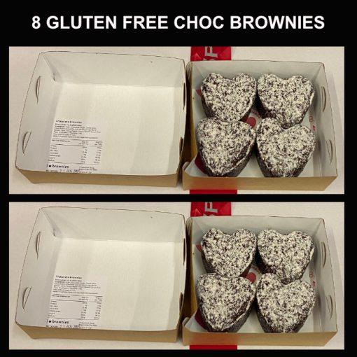 8 chocolate brownies gluten free